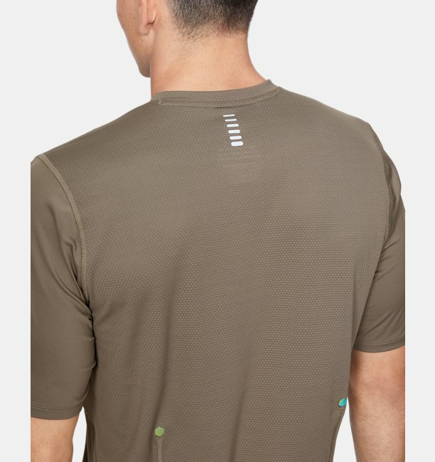 Mens UA RUSH™ Run Short Sleeve
