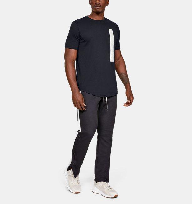Mens UA Pursuit Wordmark Core T-Shirt