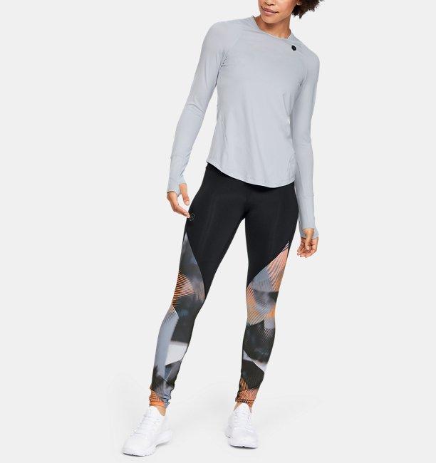 T-shirt à manches longues UA RUSH pour femme