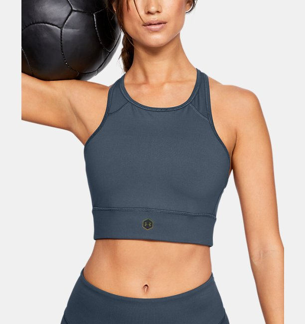 Womens UA RUSH Sports Bra