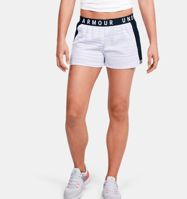 Womens UA Play Up 2.0 Shorts Inside Out Mesh