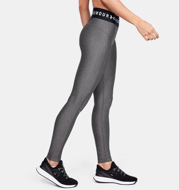Womens HeatGear® Armour Branded Waistband Leggings