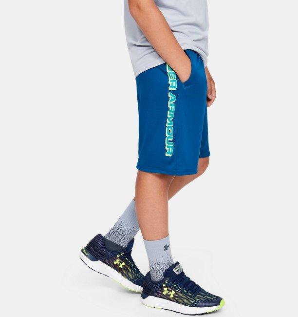 Shorts UA Prototype Wordmark para Niño