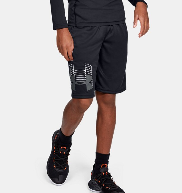 Boys UA Prototype Logo Shorts