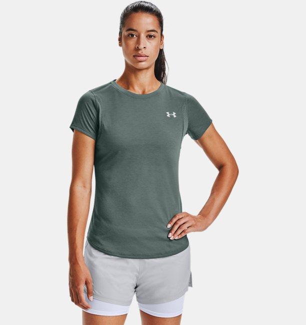 Womens UA Streaker Short Sleeve
