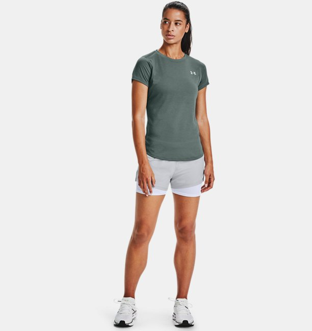 Womens UA Streaker Short Sleeve