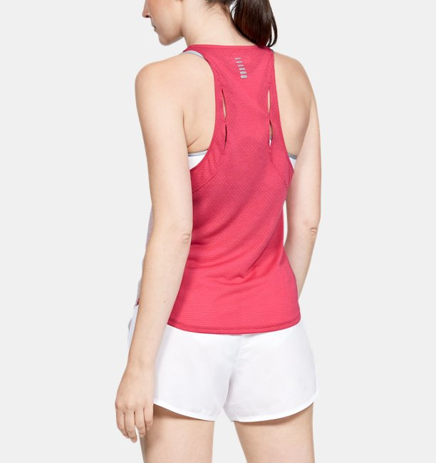 Womens UA Streaker Slit Back Tank