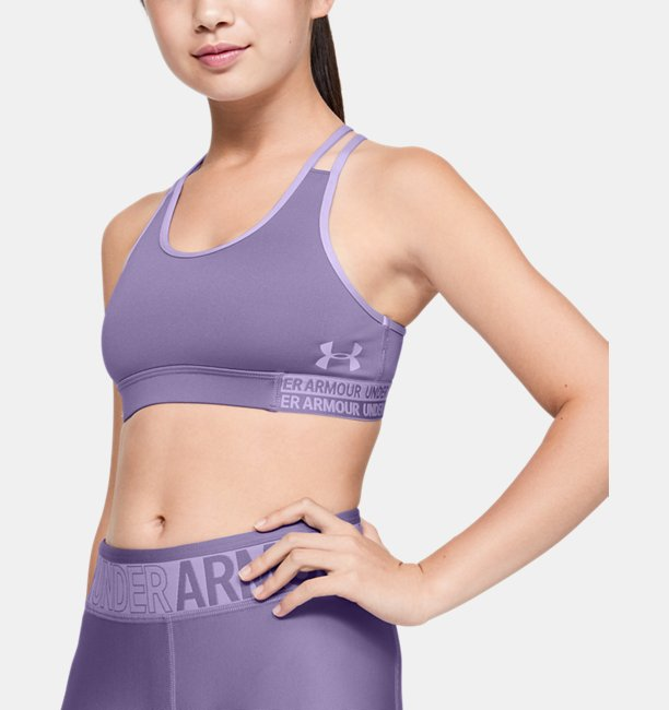 Girls HeatGear® Armour Sports Bra