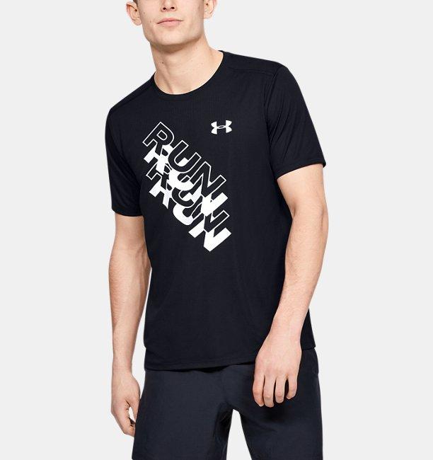 Mens UA International Run Day GX T-Shirt
