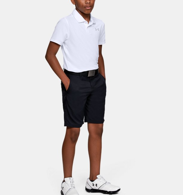 Boys UA Performance Polo Textured