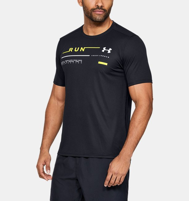 Mens UA Run Graphic T-Shirt