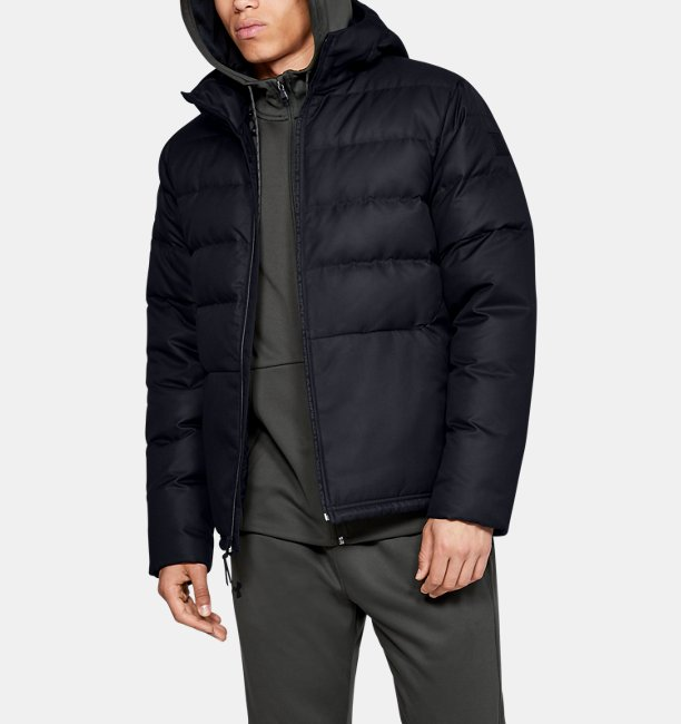 Men's UA Sportstyle Down Hooded Jacket