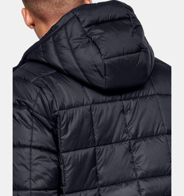 Mens UA Armour Insulated Hooded Jacket