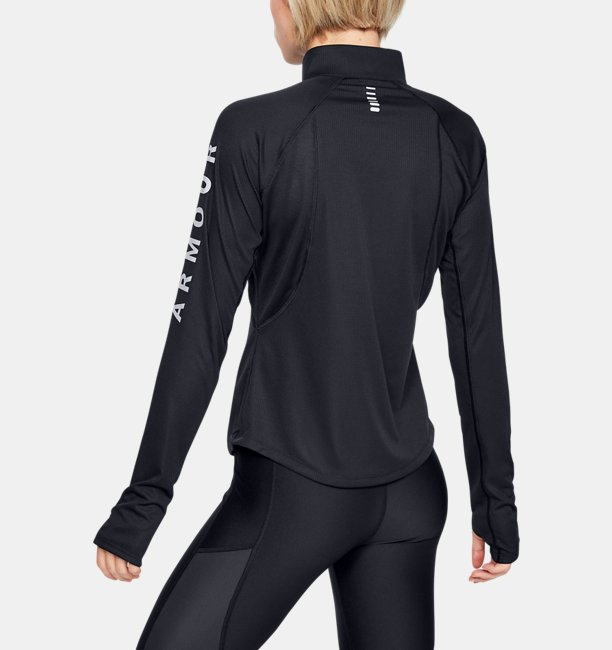 Womens UA Speed Stride Wordmark ½-Zip