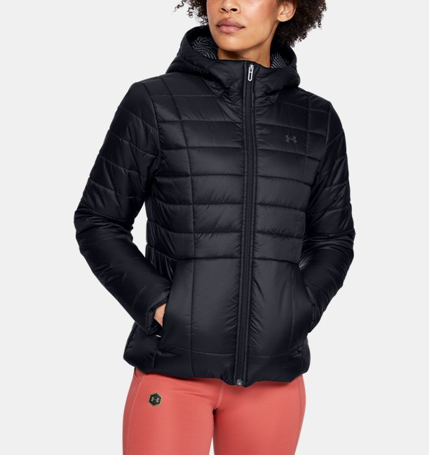Womens UA Armour Insulated Hooded Jacket