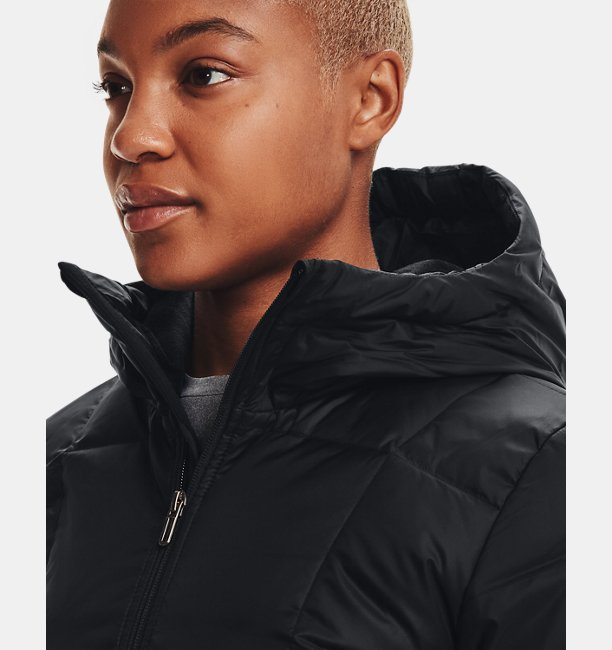 Chaqueta UA Armour Down Hooded para Mujer