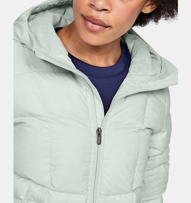 여성 UA 아머 다운 후디드 재킷