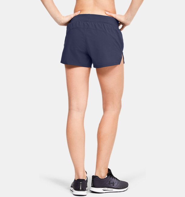 Shorts UA Launch SW Go All Day para Mujer