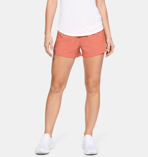 Womens UA Launch SW 3 Shorts