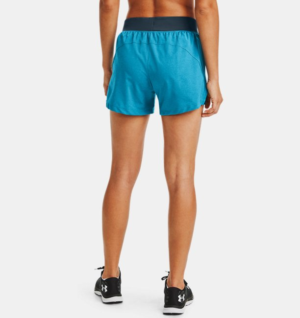 Shorts UA Launch SW Go Long para Mujer