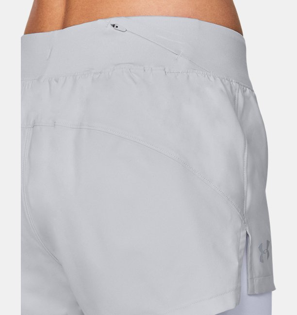 Shorts UA Launch SW 2-in-1 para Mujer