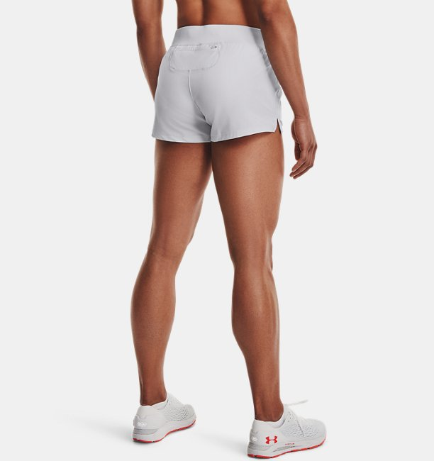 Shorts UA Qualifier Speedpocket para Mujer