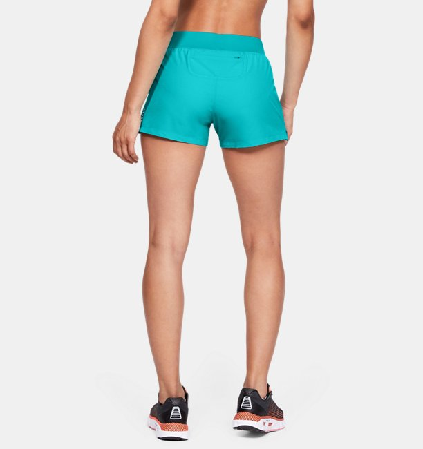 Womens UA Qualifier Speedpocket Shorts