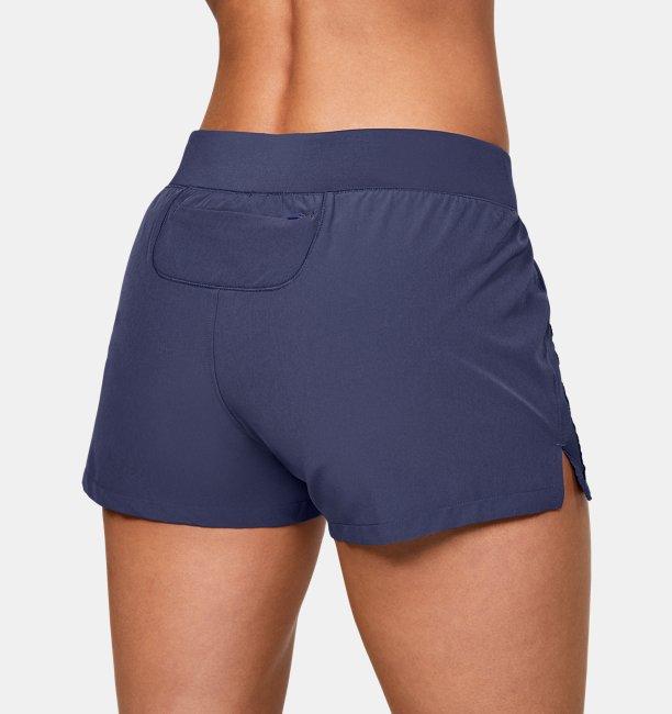 Womens UA Qualifier Speedpocket Shorts