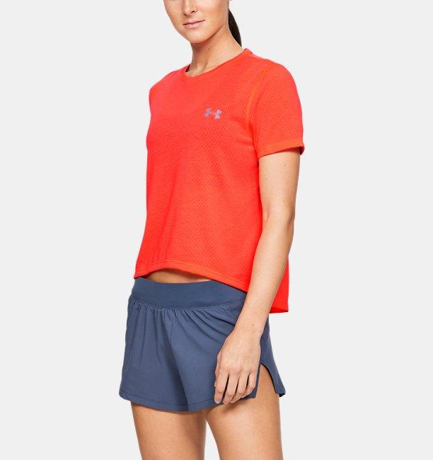 Womens UA Streaker 2.0 Mesh Short Sleeve