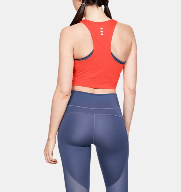 Womens UA Qualifier Crop Top