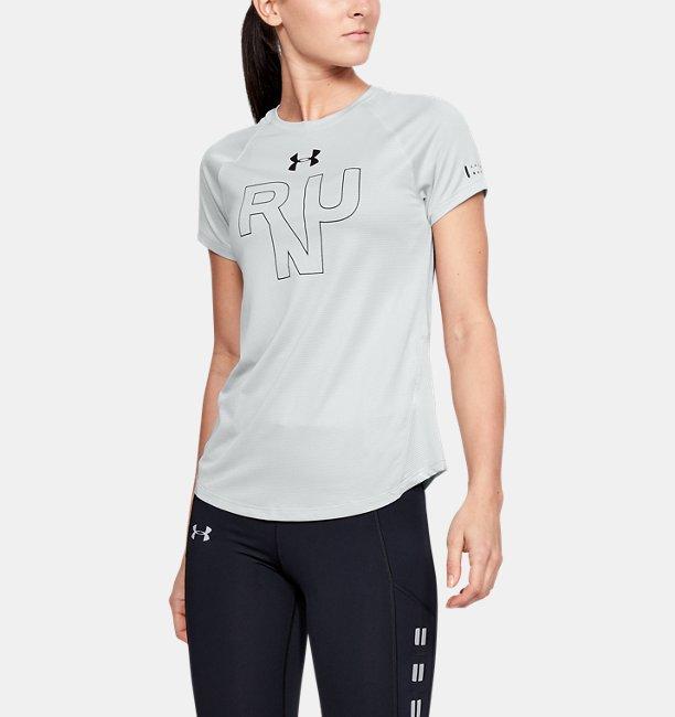 Womens UA Qualifier Short Sleeve