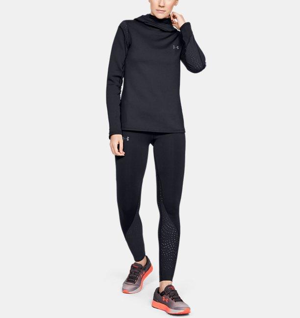 Womens UA Qualifier Speedpocket ColdGear® Tights