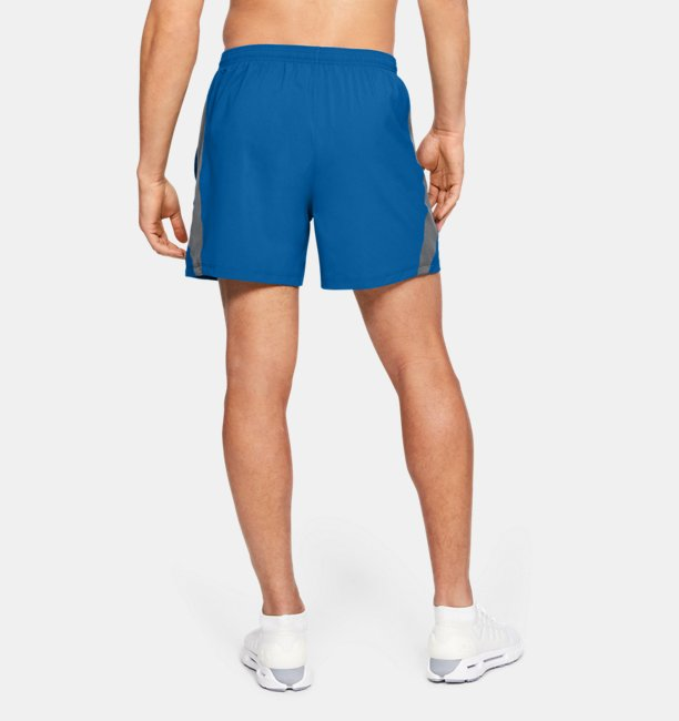 Mens UA Launch SW 5 Exposed Shorts