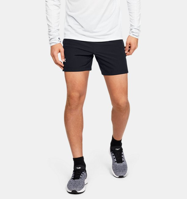 Mens UA Speedpocket Linerless 18 cm Shorts
