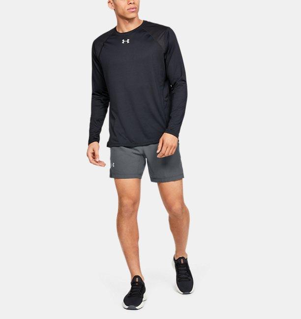Mens UA Speedpocket Linerless 7 Shorts