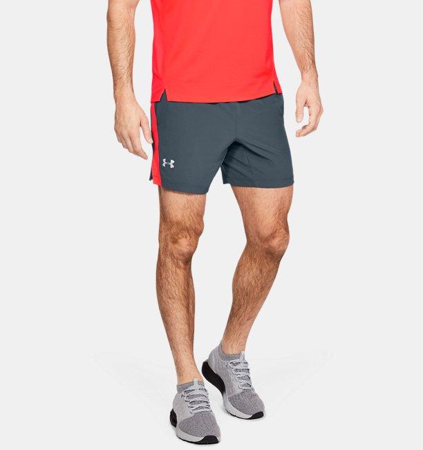 Mens UA Speedpocket Linerless 18 cm Shorts