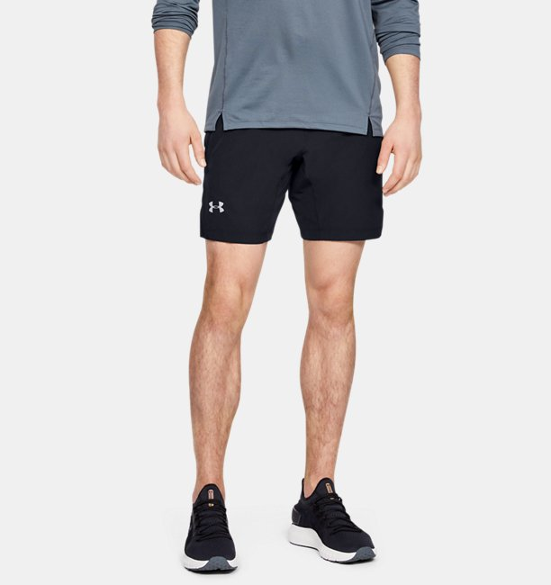 Mens UA Speedpocket Linerless 23 cm Shorts