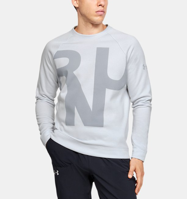 Mens UA Performance Fleece Crew