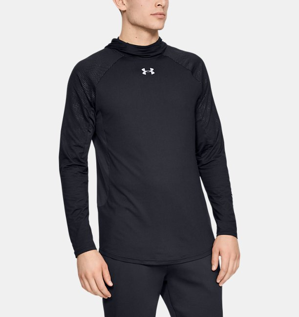 Mens UA Select Long Sleeve Shooting Shirt