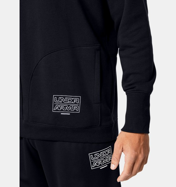 Mens UA Baseline Fleece Crew