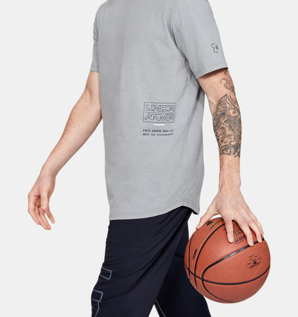 Mens UA Baseline Beyond The Arc Short Sleeve T-Shirt