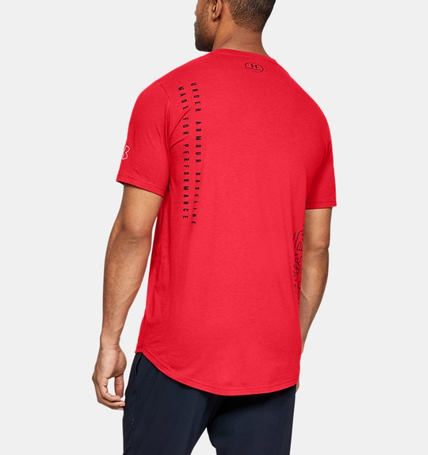 Mens UA Baseline Flip Side Short Sleeve T-Shirt