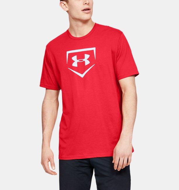 남성 UA 플레이트 그래픽 티셔츠