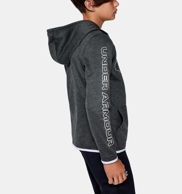 Boys Armour Fleece® Branded Hoodie