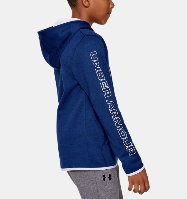 Sudadera con Capucha Armour Fleece® Branded para Niño