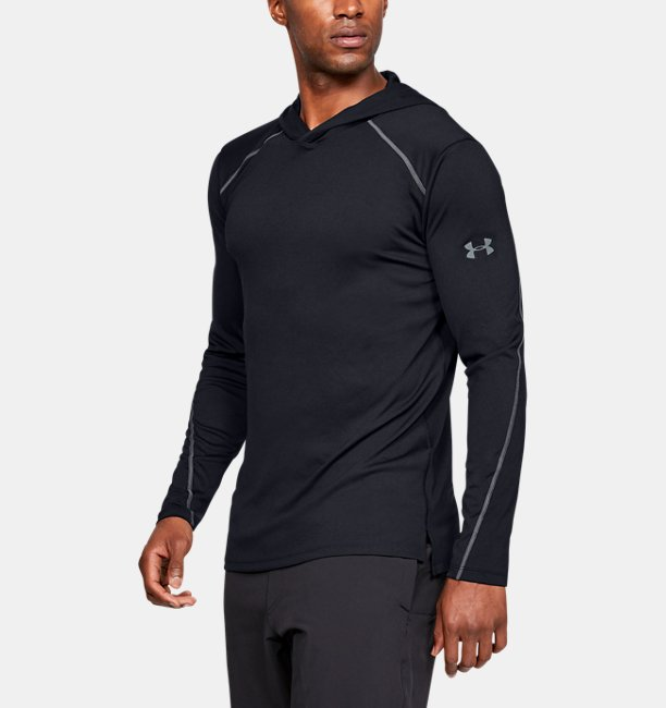 Mens UA Iso-Chill Fusion Hoodie