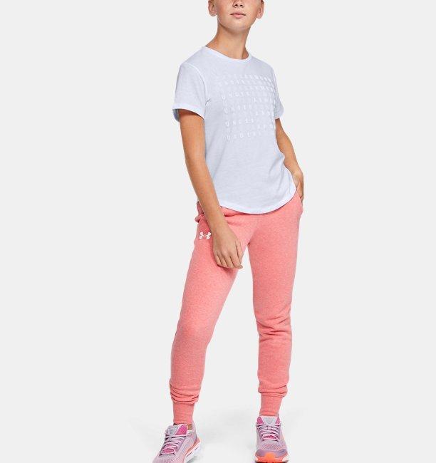 Girls UA Branded Repeat Short Sleeve