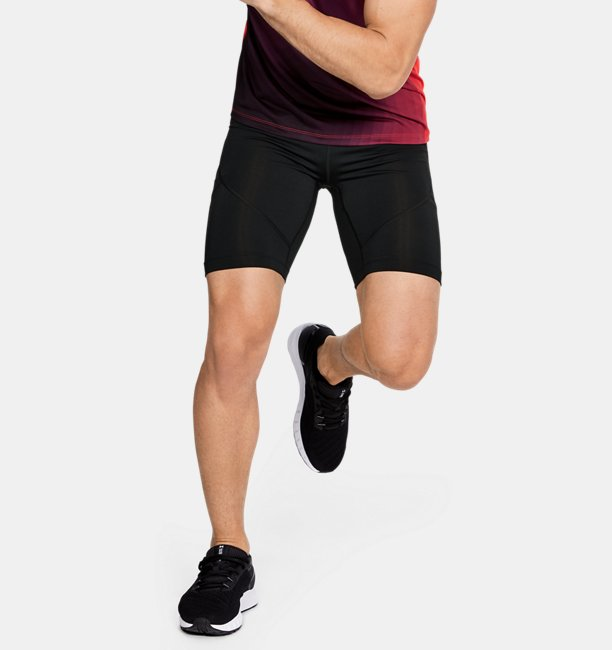 Mens UA RUSH™ Run ½ Tights