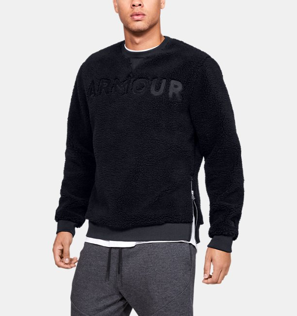 Mens UA Be Seen Sherpa Crew