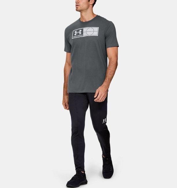Mens UA Global Football Tag T-Shirt